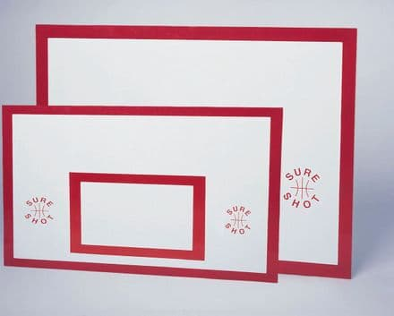 Sure Shot Basketball Indoor Plywood Back Board