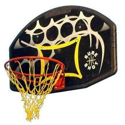 Sure Shot Junior Coloured Backboard and Basketball Ring Set
