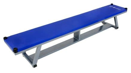Sure Shot Lightweight Aluminium Bench - Blue - Yoga Gymnastics Aerobics