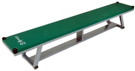 Sure Shot Lightweight Aluminium Bench - Green - Yoga Gymnastics Aerobics
