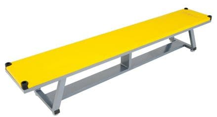 Sure Shot Lightweight Aluminium Bench - Yellow - Yoga Gymnastics Aerobics