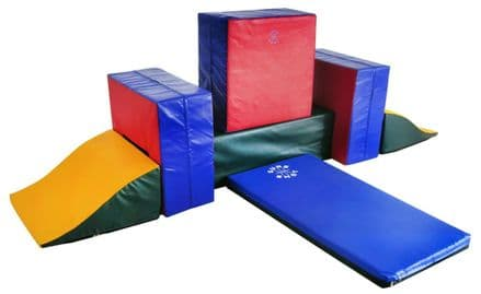 Sure Shot Soft Play Super 7 Shapes - Fitness Gymnastics Athletics