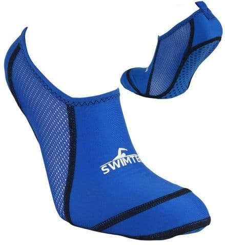 SwimTech Pool Socks Blue - Swimming Splash Swim