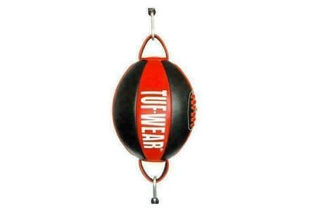 Tuf Wear Boxing Floor to Ceiling Ball Leather Top and Bottom Ball