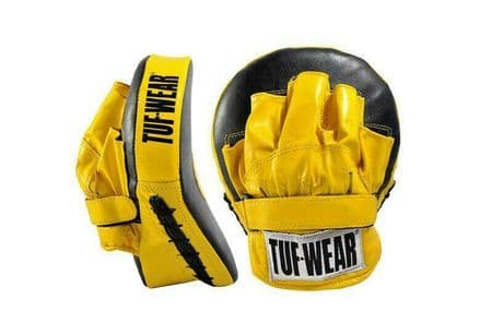 Tuf Wear Boxing Focus Mitts Curved Focus Hook and Jab Pad