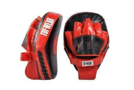 Tuf Wear Boxing Focus Mitts  Lightweight Curved Hook and Jab Pad