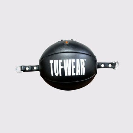 Tuf Wear Boxing Leather Reaction Ball  Black