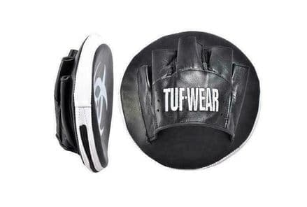 Tuf Wear Boxing Mitts Button Leather Hook and Jab Focus Pads