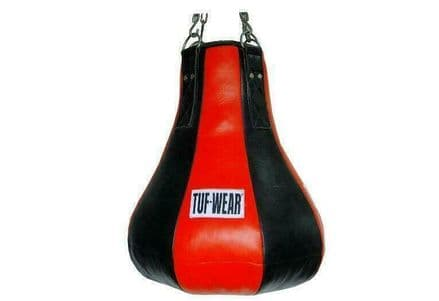 Tuf Wear Boxing Punch Bag Hide Leather Maize Bag