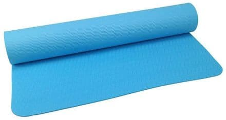 Urban Fitness Mat TPE Home Exercise Gym Yoga with Strap - 4mm
