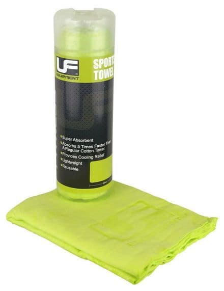 Urban Fitness Sports Towel 66 x 43cm - Green