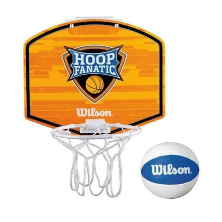 Wilson Mini Hoop Fanatic Basketball Ring & Ball