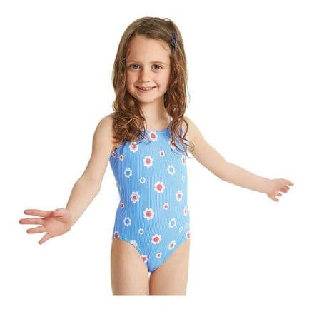 Zoggs Girls Holiday Scoopback Swimming Swimsuit