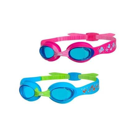 Zoggs Kids Little Twist Swimming Goggles - Upto 6yr old
