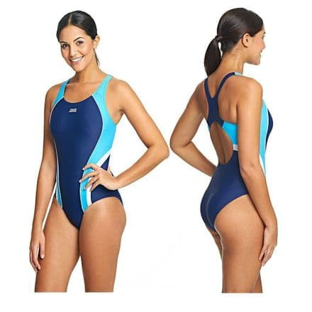 Zoggs Ladies Hydrolife Katherine Actionback Swimming Swimsuit