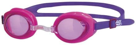 Zoggs Ripper Junior Swimming Goggles Pink