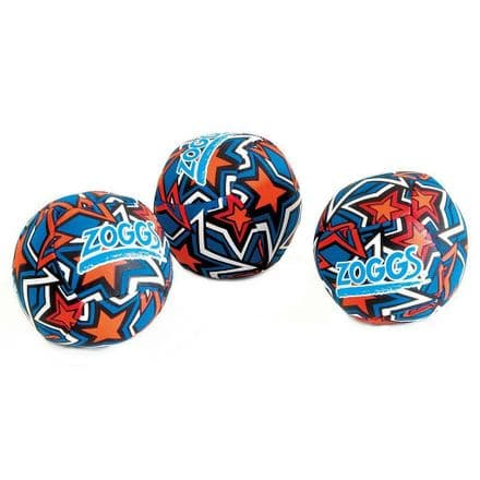 Zoggs  Swimming Swim Splash Balls (80mm Diameter Each) (Pack of 3)