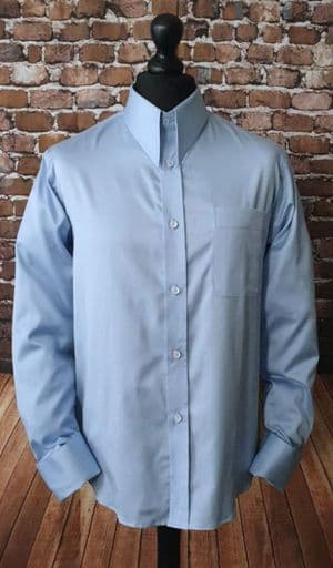 """Arlo"" 100% Soft Cotton Spearpoint Collar Shirt"
