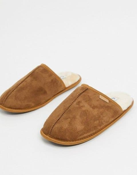 Ben Sherman Taupe Slippers