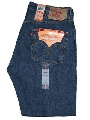 LEVI'S 511 STONEWASH BLUE DENIM