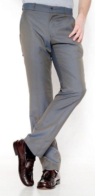 Relco Two Tone Trouser Green & Gold