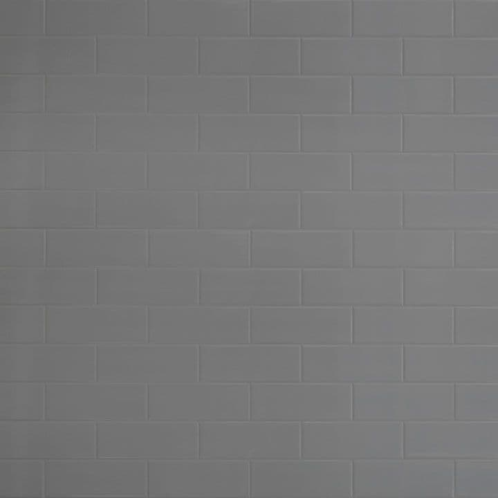 Tilepanel Brick, Bevelled Grey Fleck Vertical