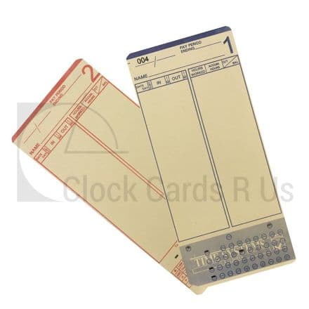 23155 Time Clock Cards