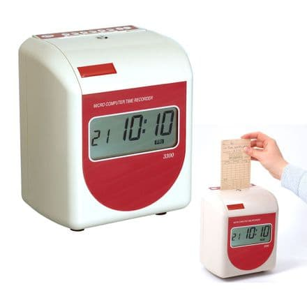 Acroprint 3300NX Automatic Time Recorder Clocking In Machine