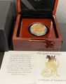1959 Full Gold Sovereign in a Luxury Wooden Case