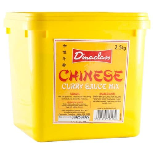 Dinaclass Chinese Curry 2.5kg