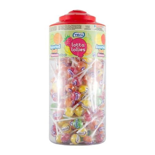 Lotta Lollies Assorted Fruit Flavours x150