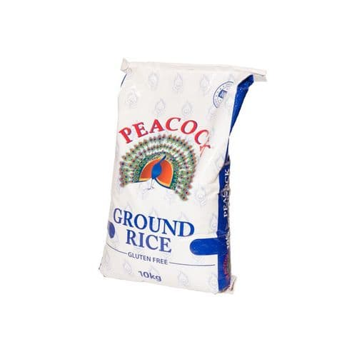 Peacock Ground Rice 12.5kg