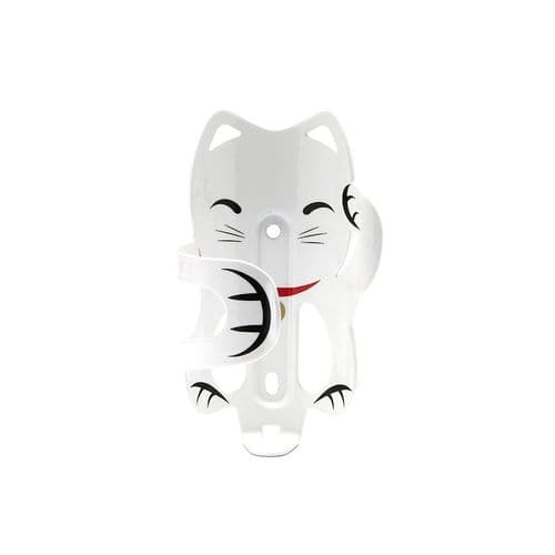 pdw Lucky Cat Bottle Cage white