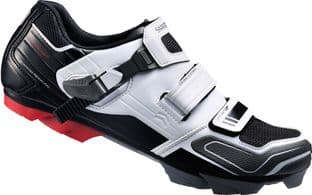 Shimano XC51 SPD Off Road Shoes White/Black