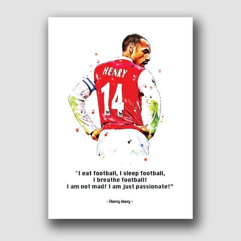 ARSENAL -  THIERRY HENRY QUOTE!