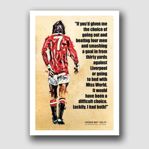 MANCHESTER UNITED - GEORGE BEST (1)
