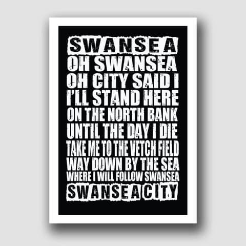 SWANSEA CITY  SONG!