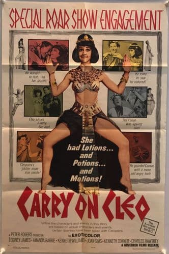 Carry On Cleo US One Sheet (1965) Original Film Poster