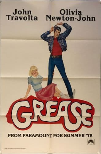 Grease Advance US One Sheet (1978) Original Film Poster