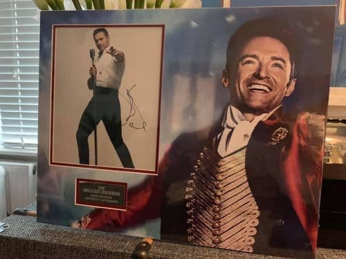 Hugh Jackman The Greatest Showman Original Autograph SIGNED Picture
