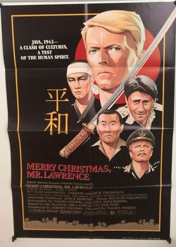 Merry Christmas Mr.  Lawrence US One Sheet (1983) Original Film Poster
