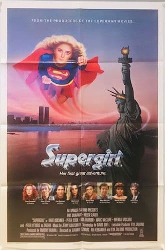 Supergirl US One Sheet (1984) Original Film Poster