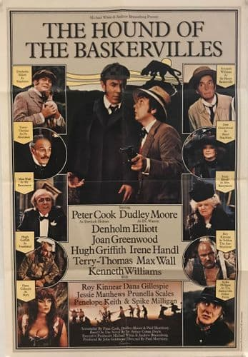 The Hound Of The Baskervilles English One Sheet (1978) Original Film Poster