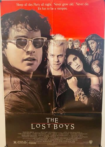 The Lost Boys US One Sheet (1987) Original Film Poster