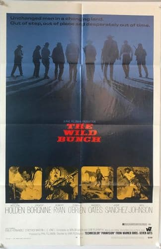The Wild Bunch US One Sheet (1969) Original Film Poster