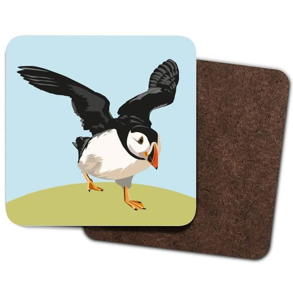 Peter Puffin Single Coaster