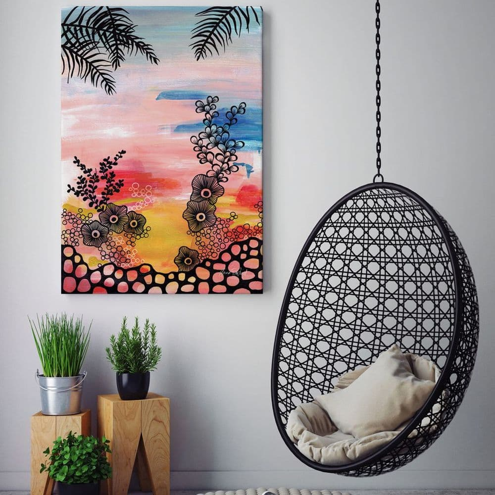 Tropical Holiday Canvas Print