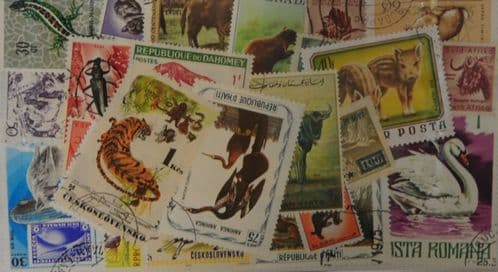Animals 50 Stamps (M20)