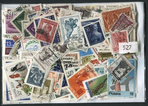 Eastern European Countries 300 Stamps (527)