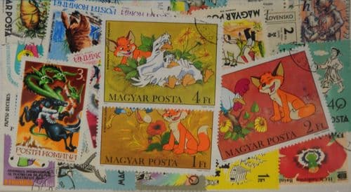 Fairytales 50 Stamps (M132)